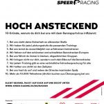 Speer Racing - 10 Gründe