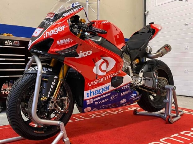 Ducati Panigale V4R von Michael Dunlop - © Michael Dunlop MD Racing