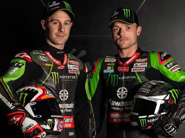 Rea und Lowes - © Kawasaki Racing Team