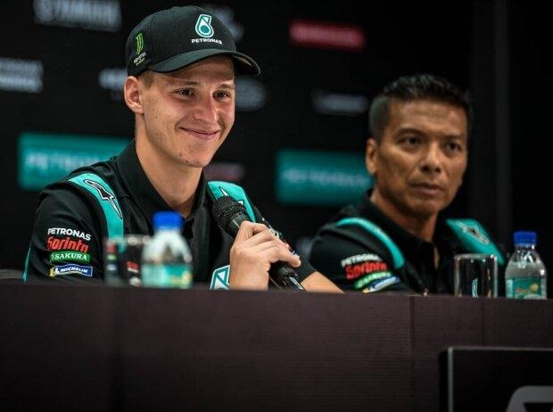 Gibt es 2020 keine MotoGP-Rennen, dann will Petronas Quartararo 2021 behalten
