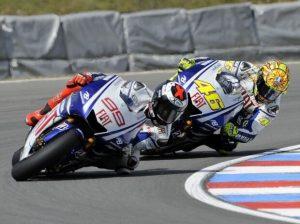 Jorge Lorenzo u Valentino Rossi - © Yamaha