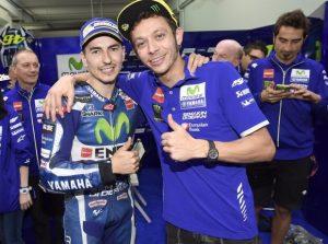 Lorenzo u Rossi - © Yamaha