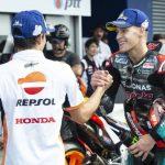Marc Marquez und Fabio Quartararo - © Motorsport Images