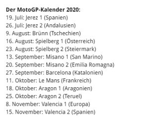 MotoGP 2020 - www.motogp.com