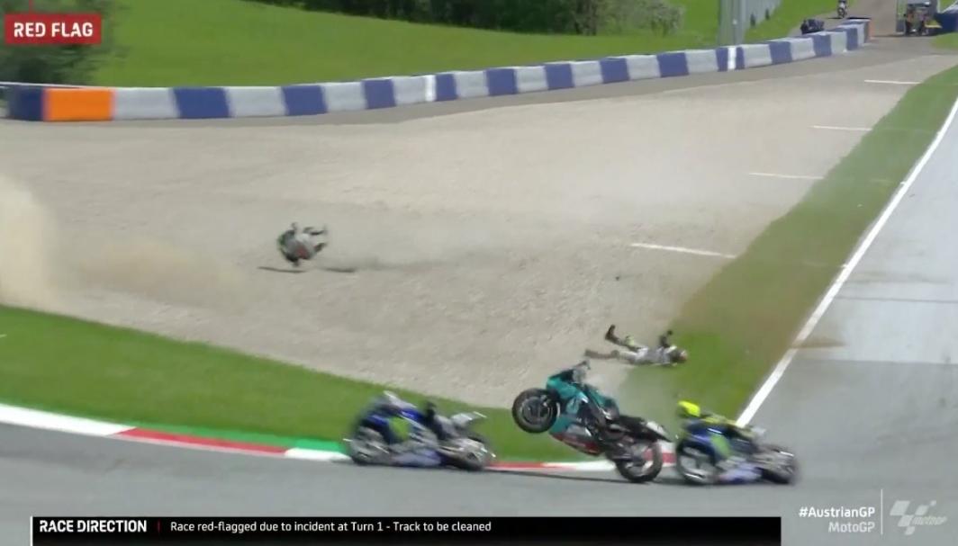 Crash Morbidelli Zarco - www.motogp.com