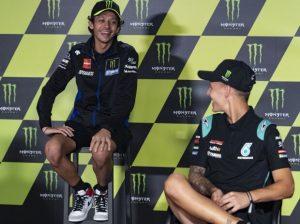 Valentino Rossi und Fabio Quartararo - © Motorsport Images