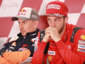 Jorge Lorenzo und Andrea Dovizioso - © LAT