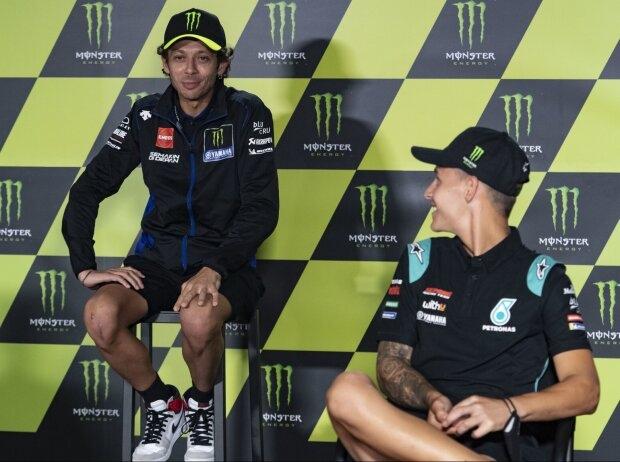 Fabio Quartararo u Valentino Rossi - © Motorsport Images
