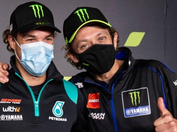 Franco Morbidelli und Valentino Rossi - © Motorsport Images