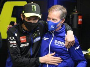 Valentino Rossi u Lin Jarvis - © Yamaha