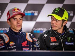 Valentino Rossi u Marc Marquez - © GP-Fever.de