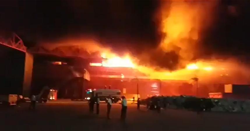 Feuer Termas de Rio Hondo