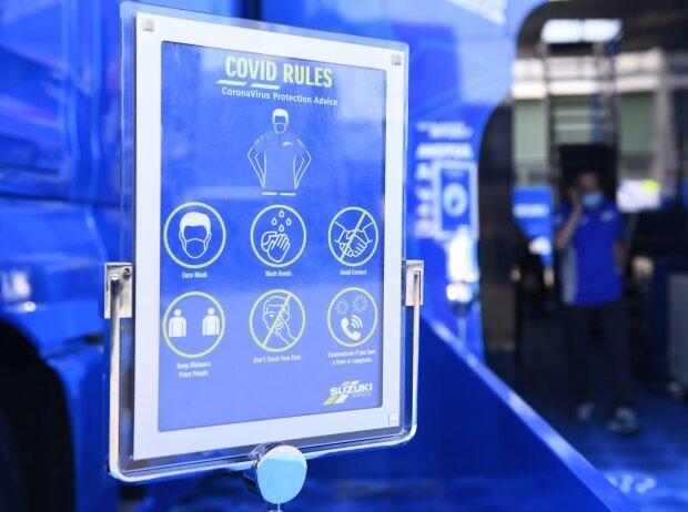 Covid Hygieneregeln - © Motorsport Images