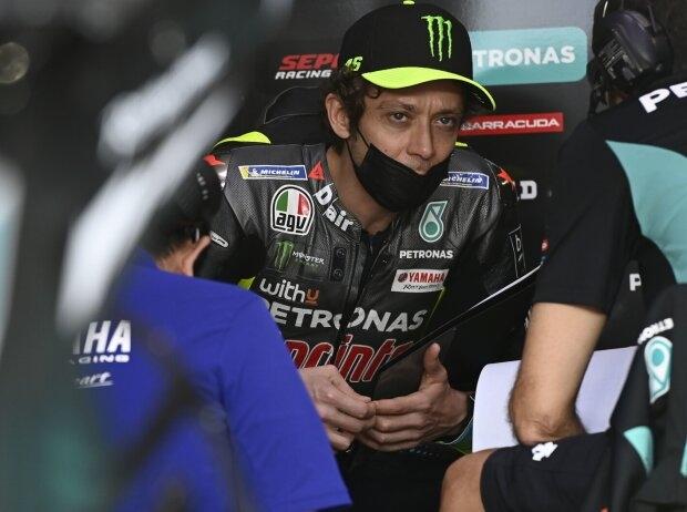 Valentino Rossi nach P20 beim Katar-Test: