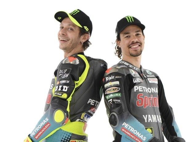 Rossi und Morbidelli als Petronas-Duo: