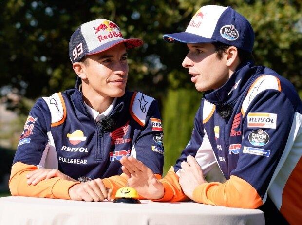 Alex Marquez und Marc Marquez - © Repsol