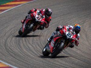 Rinaldi u Redding - © Ducati