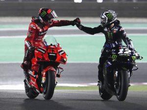Bagnaia Vinales - © Motorsport Images