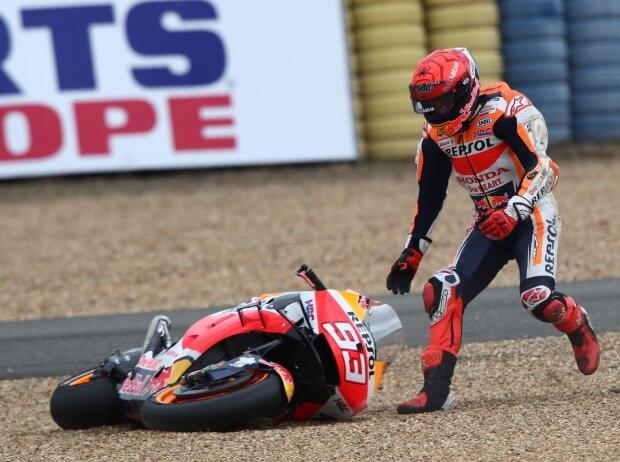 Marc Marquez verspielt Podestchance in Le Mans: