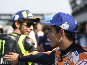 Marc Marquez Valentino Rossi - © Motorsport Images