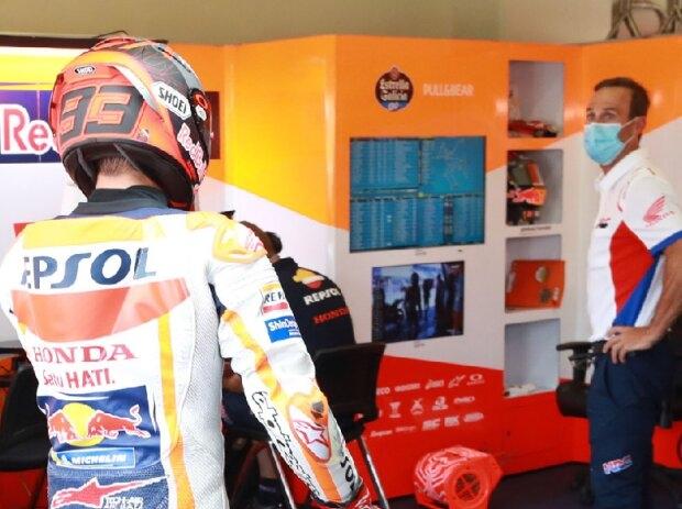 Marc Marquez u Alberto Puig - © Motorsport Images