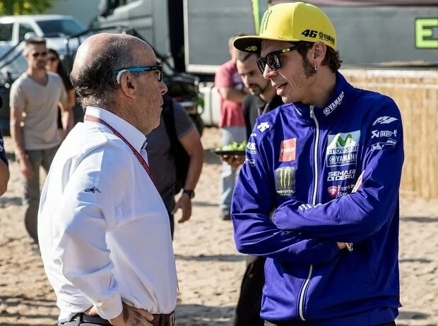 Ezpeleta u Rossi - © GP-Fever.de