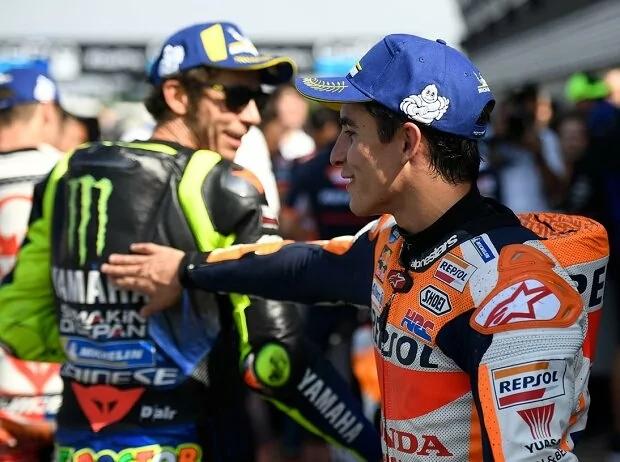 Marquez u Rossi - © Motorsport Images