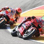 Francesco Bagnaia vs Marc Marquez - © Motorsport Images