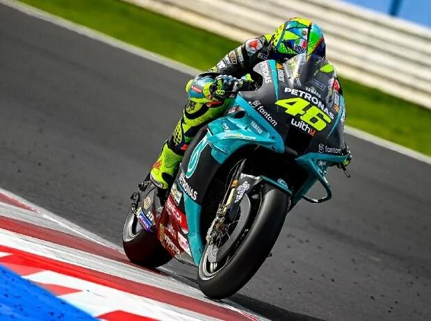 Letzter MotoGP-Test für Valentino Rossi: