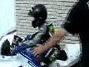 10 jähriger österreichischer Nachwuchsracer auf einer Honda CBR 600