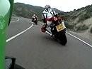 Andrücken: 1000ccm Superbike onboard Road - Yamaha R1 vs Honda Fireblade vs Suzuki GSX-R1000 vs Kawasaki ZX-10R vs Ducati 1198