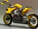 """CR&S """"DUU"""" Konzept-Bike vorgestellt auf der Eicma 2009"""