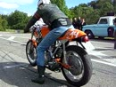 Laverda 1/8 mile accleration