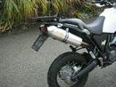 Yamaha xt 660 Z Tenere mit LeoVince ohne dB Killer