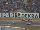 Geile Battle: 125ccm Motorrad WM 1991 Hockenheim: Waldmann, Capirossi, Lüthi