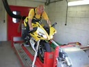 Yamaha R1 mit Two Brothers Racing Auspuff - Leistungsprüfstand