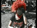 Lady mit den roten Haaren auf der European Bike Week Faaker See