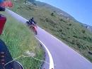 Monte Baldo Panoramastraße mit Ducati Monster