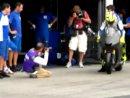 Valentino Rossi tests 2008 Yamaha YZR-M1