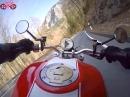 Mopedtour Kesselberg - Walchensee, Kamera am Brustgurt
