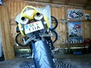 Yamaha R1 RN12 mit Arrow Titan Auspuffanlage ohne Kat