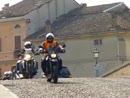 "Motorrad Gruppenausfahrt, Motorradclub""Compagnia della Spinta, Carpi"""