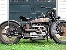 1928 Henderson Deluxe - alt und mit der Patina des Alters aber läuft