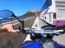 193 km/h auf der Bahn, und dann zog der Bus raus ... Einatmen, ausatmen