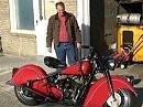 1946 Indian Motorrad - sehr schön restauriert