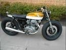 1970 Honda CB350 Motorradumbau Cafe Racer / Bobber / Brat