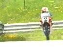 1986 Salzburgring Österreich 80ccm und Seitenwagen Motorrad Grand Prix -