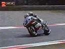 Packender Zweikampf Frankie Chili vs Carl Fogarty - Monza - WSBK 1996