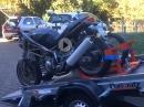 2 Motorräder gleichzeitig auf einen Anhänger verladen - MC-Selfloader