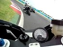 2 Runden Magny Cours onboard auf Yamaha R1